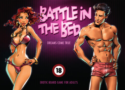 Battle in the Bed - Adult's Only Board Game