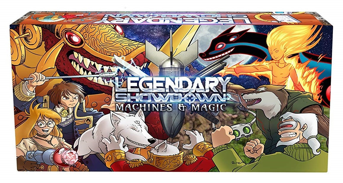 Legendary Showdown: Machines & Magic - Card Game