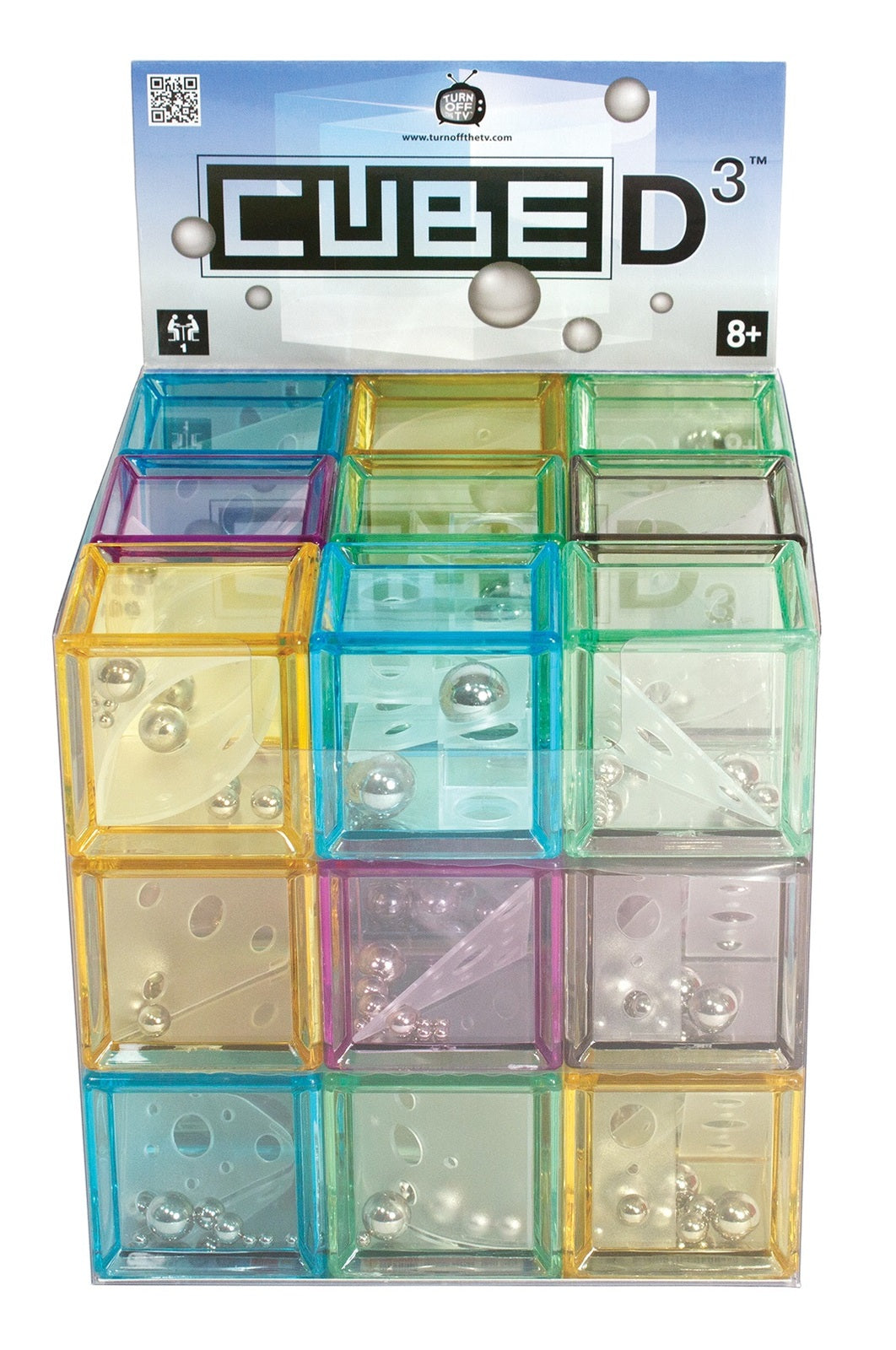 Cube D3 - Puzzle Cube (Assorted Designs)