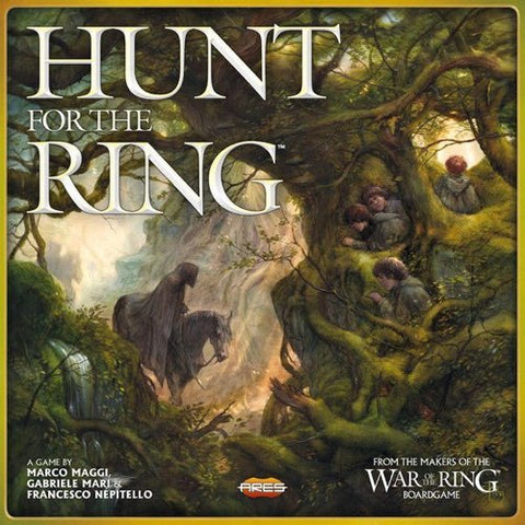 Lord Of The Rings: Hunt for the Ring - Board Game
