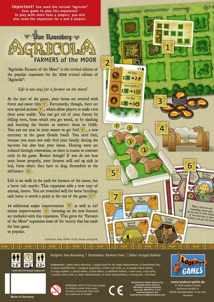 Agricola: Farmers of the Moor - Revised Edition