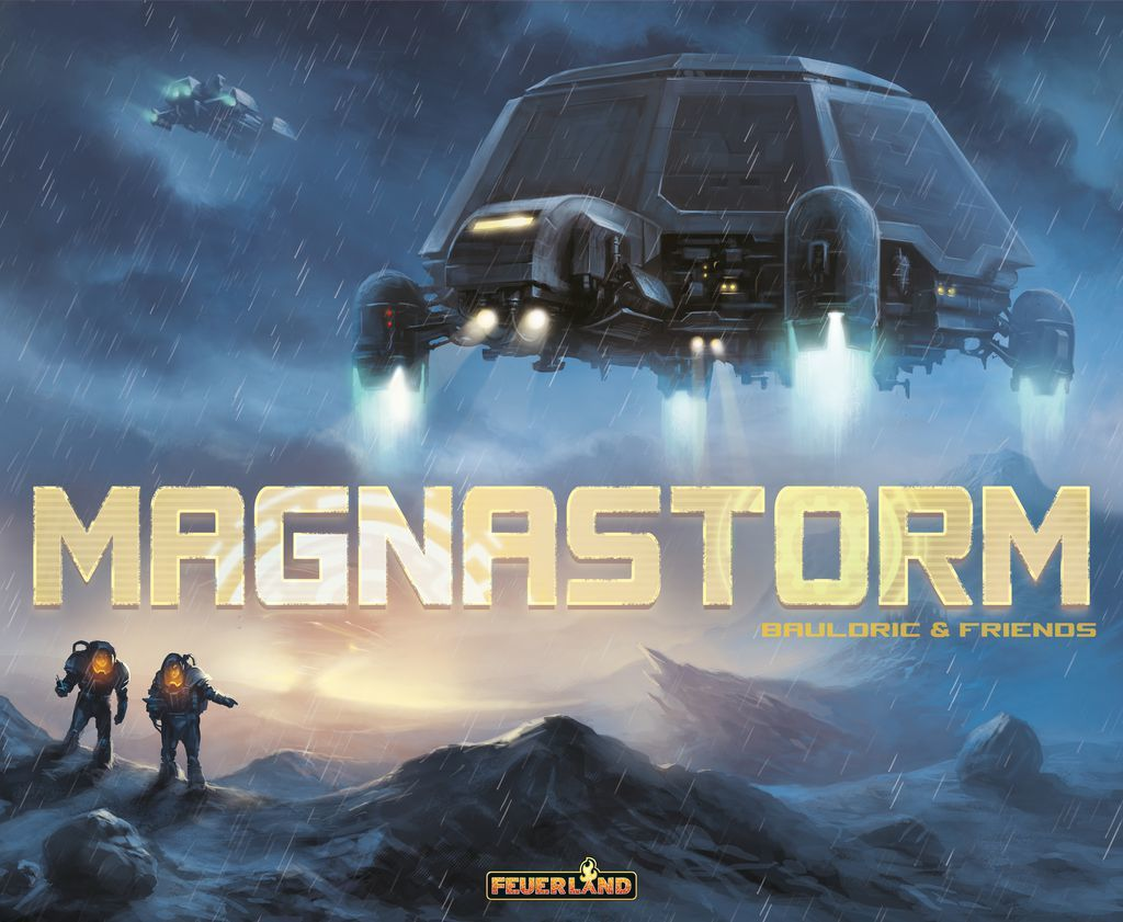 Magnastorm - Board Game