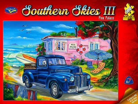 Holdson: Southern Skies 500pce Jigsaw Puzzle - Pink Palace