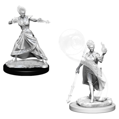 D&D Nolzur's Marvelous: Unpainted Miniatures - Fire Genasi Female Wizard