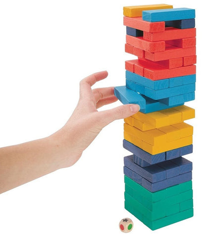 IS Gifts: Tumbling Tower - Coloured