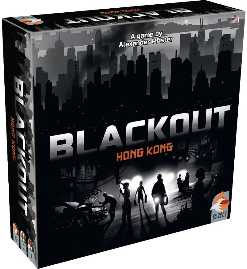 Blackout: Hong Kong - Board Game