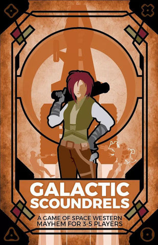 Galactic Scoundrels - Card Game