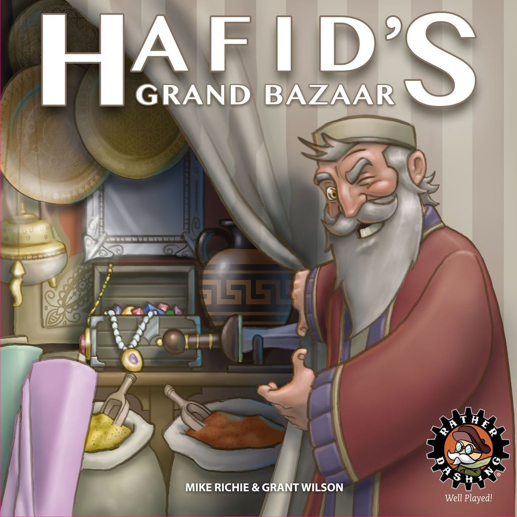 Hafid's Grand Bazaar - Board Game