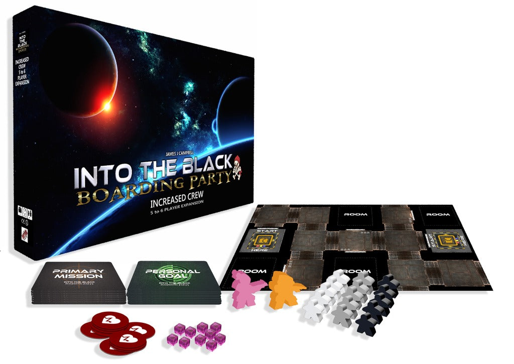 Into the Black: Increased Crew - Game Expansion