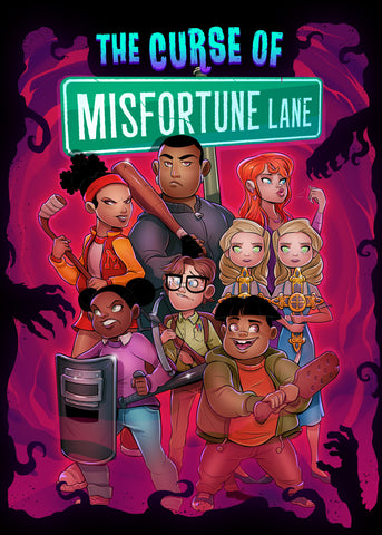 The Curse of the Misfortune Lane - Card Game