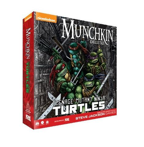 Munchkin: Teenage Mutant Ninja Turtles - Deluxe Edition