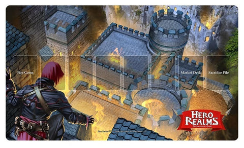 Hero Realms - Fire Bomb Playmat
