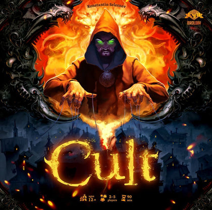 Cult: Choose Your God Wisely - Board Game