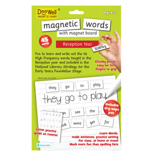 First Words Magnetic Play Scene - preschool