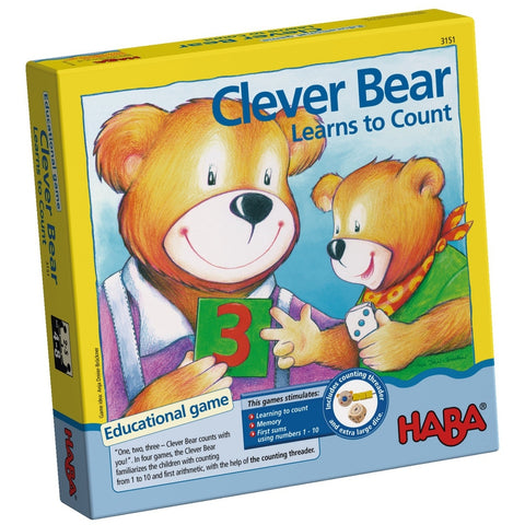 Clever Bear Learns to Count - Children's Game
