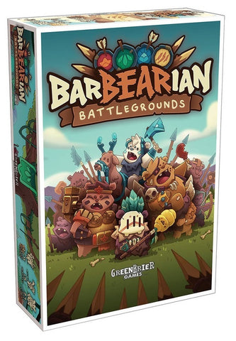 BarBEARian Battlegrounds - Board Game