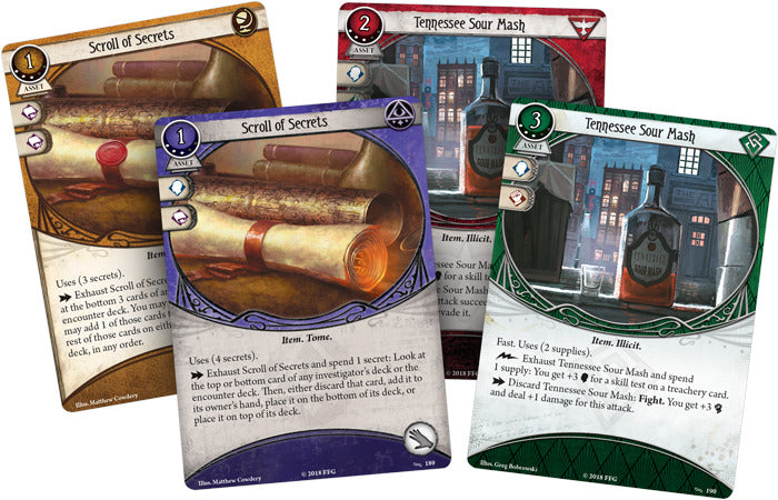 Arkham Horror LCG: For The Greater Good - Mythos Pack
