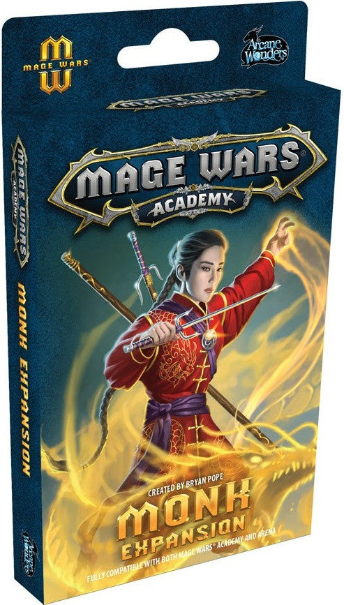 Mage Wars: Academy - Monk Expansion
