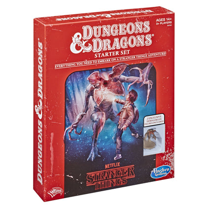 Stranger Things Dungeons & Dragons Roleplaying Game Starter Set