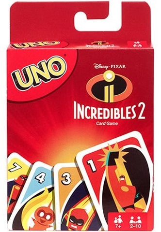Incredibles Uno - Card Game