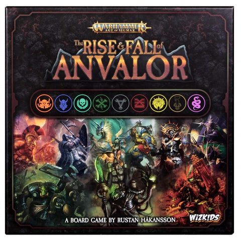 Warhammer: The Rise & Fall of Anvalor - Board Game