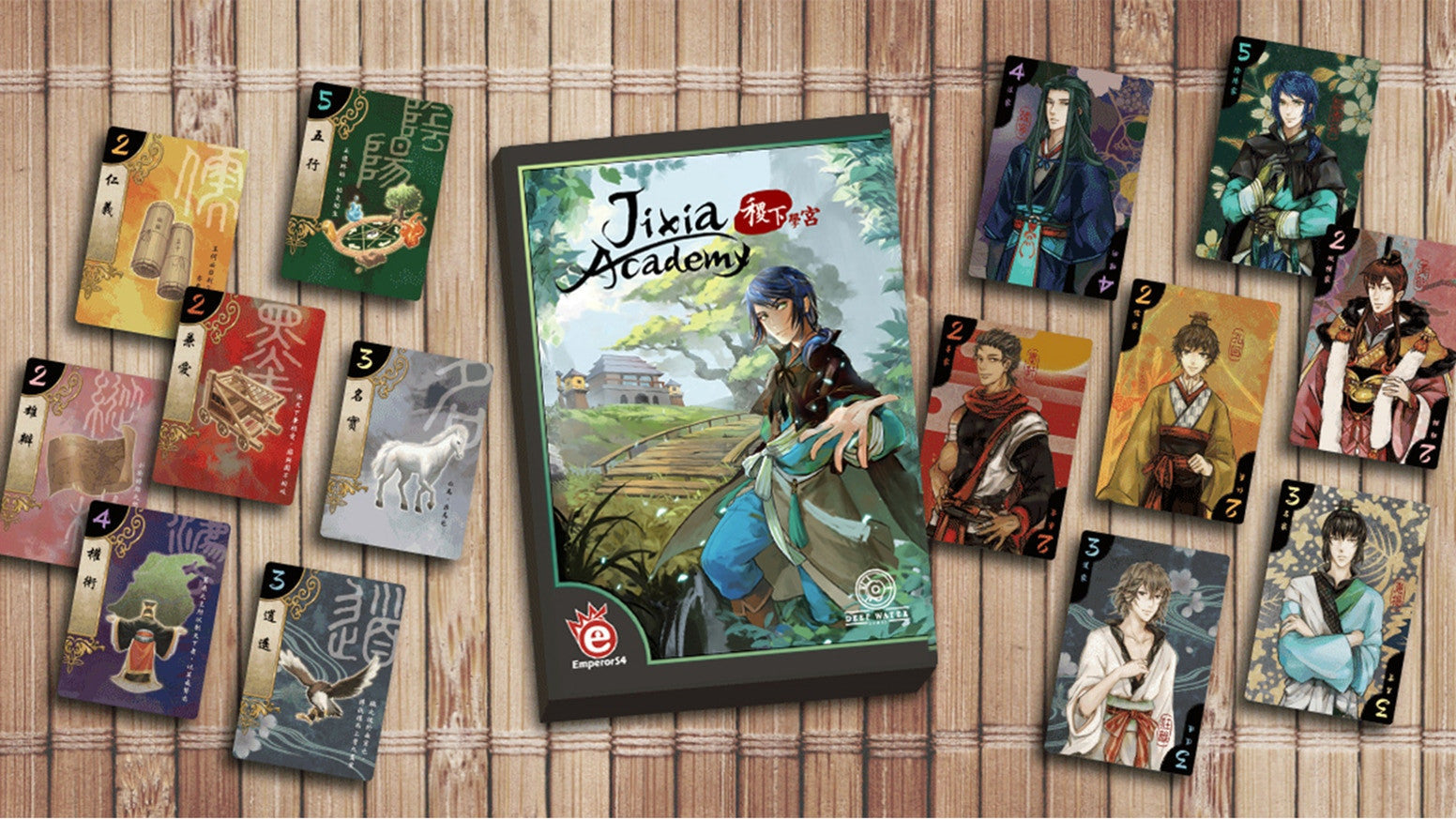 Jixia Academy - Card Game