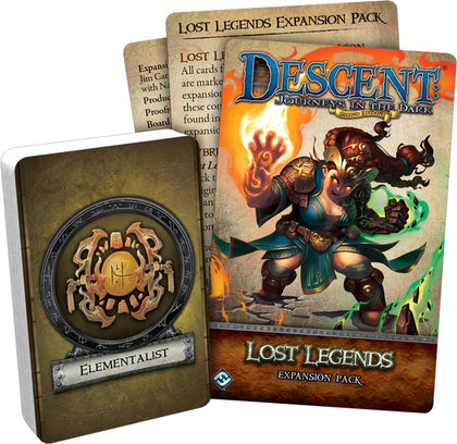 Descent: 2nd Edition - Lost Legends Expansion