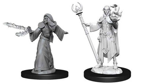 D&D Nolzur's Marvelous: Unpainted Miniatures - Male Elf Wizard
