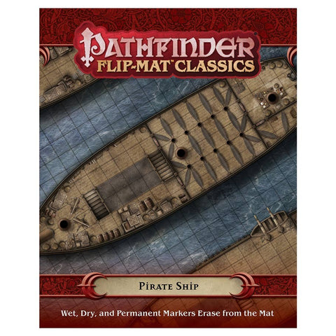 Pathfinder RPG: Flip-Mat Classics - Pirate Ship