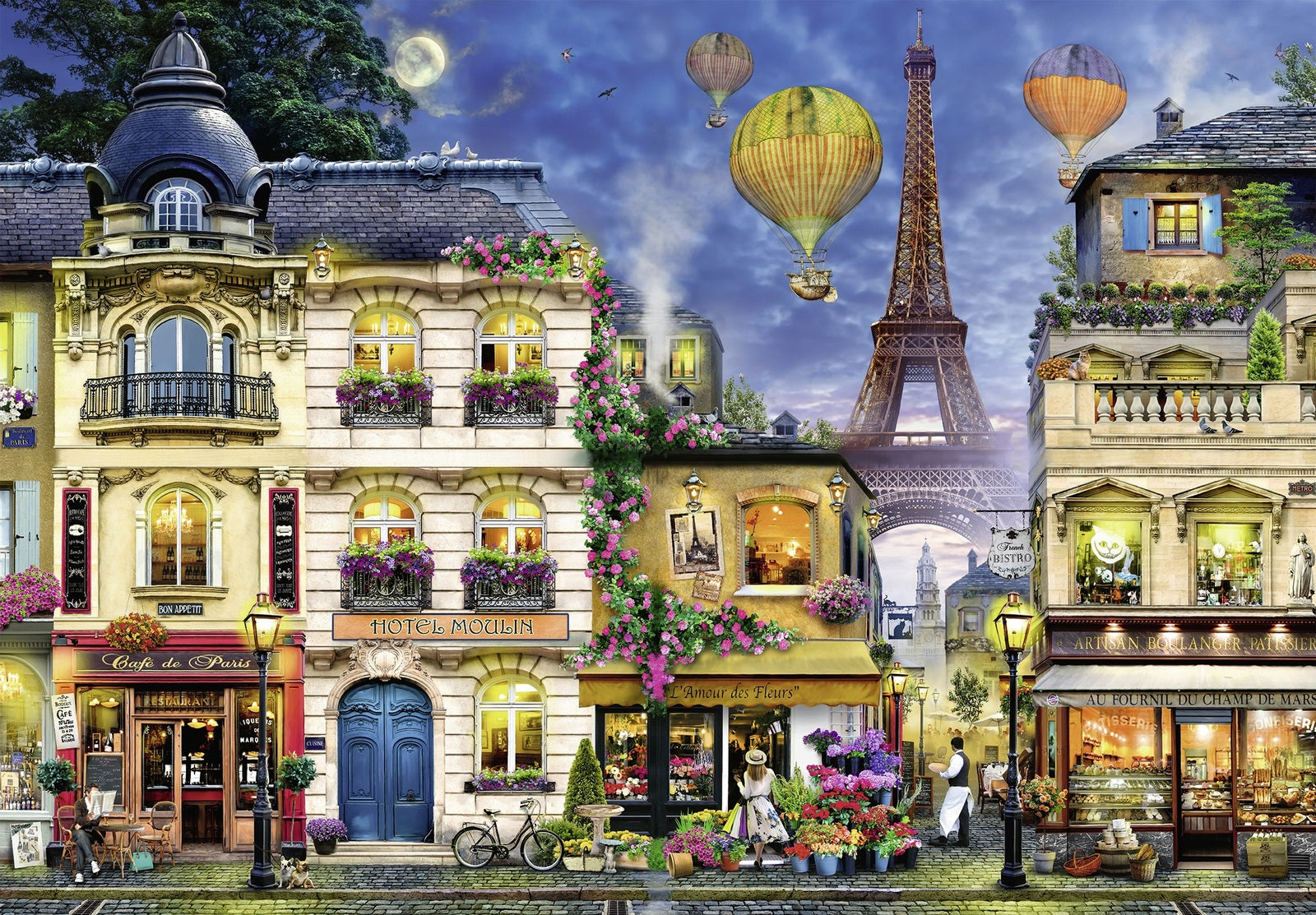 Ravensburger: 18,000 Piece Puzzle - Evening Walk in Paris