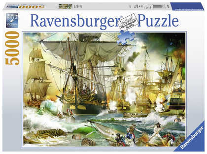 Ravensburger: 5,000 Piece Puzzle - Battle on High Sea