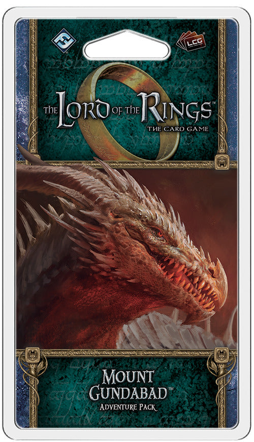 Lord of the Rings LCG: Mount Gundabad - Adventure Pack