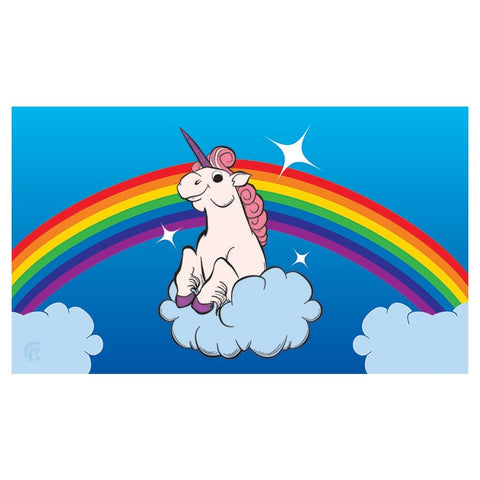 Legion: Gaming Play Mat - Rainbow Unicorn