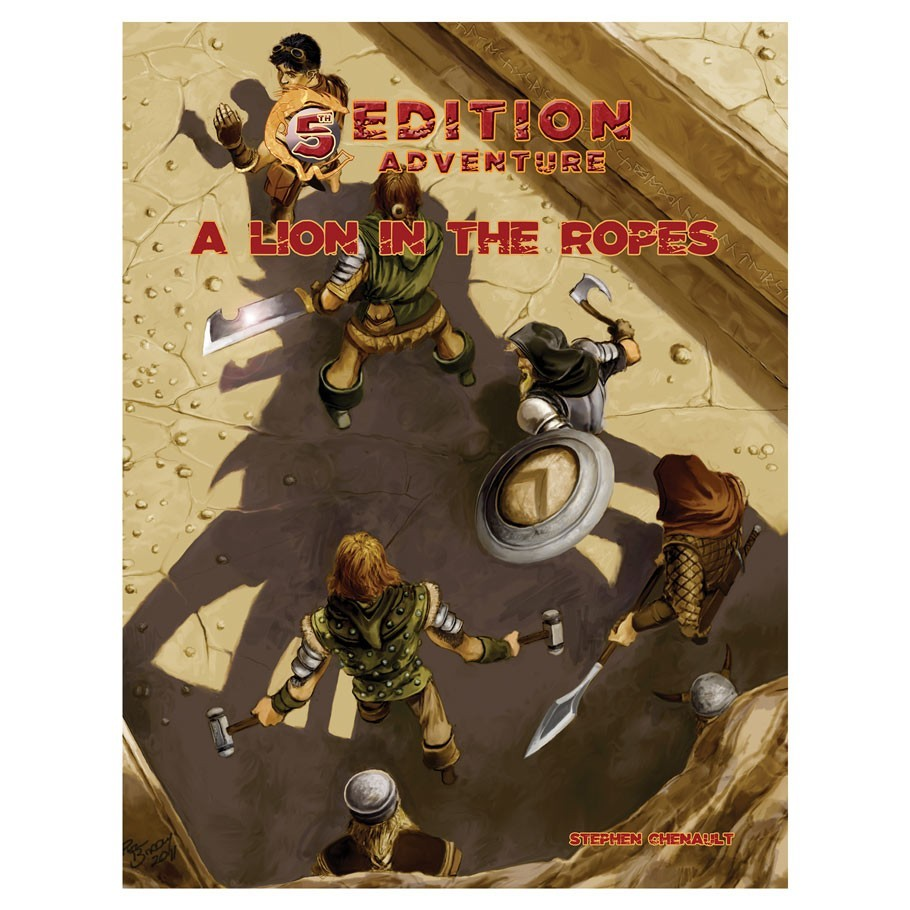 5E Adventure - A Lion in the Ropes