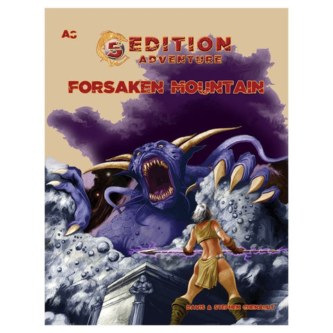 5E Adventure A8 - The Forsaken Mountain