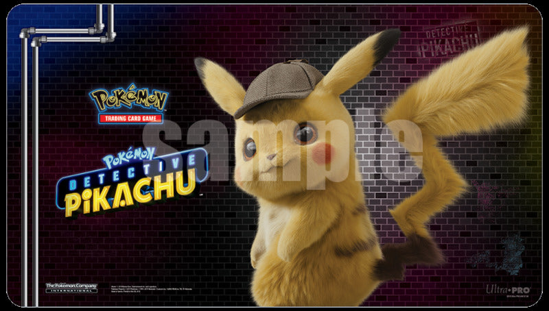 POKEMON - Playmat - Detective Pikachu