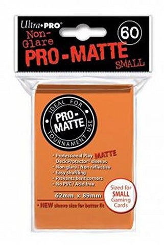 Ultra Pro: Pro-Matte Small Deck Protector Sleeves - Orange