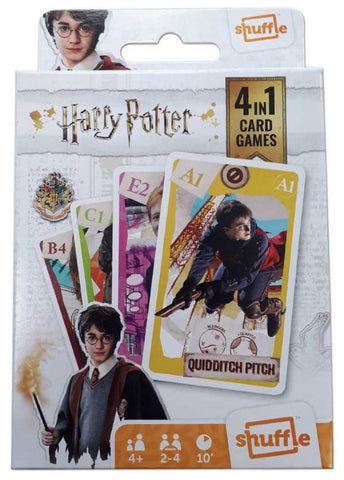 Shuffle: 4-In-1 Card Games - Harry Potter