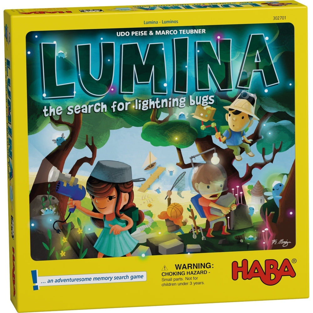 Lumina: The Search For Lightning Bugs - Children's Game