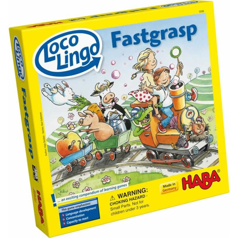 Loco Lingo Fastgrasp - Children's Game