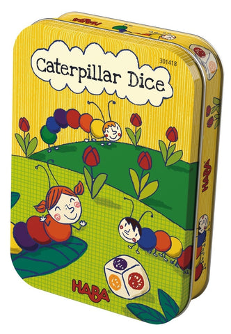 Caterpillar Dice - Children's Game