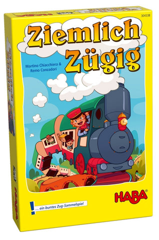 Fairly Fast - A Colourful Train Collecting Game