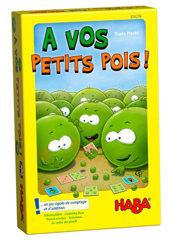 Counting Peas - Children's Game