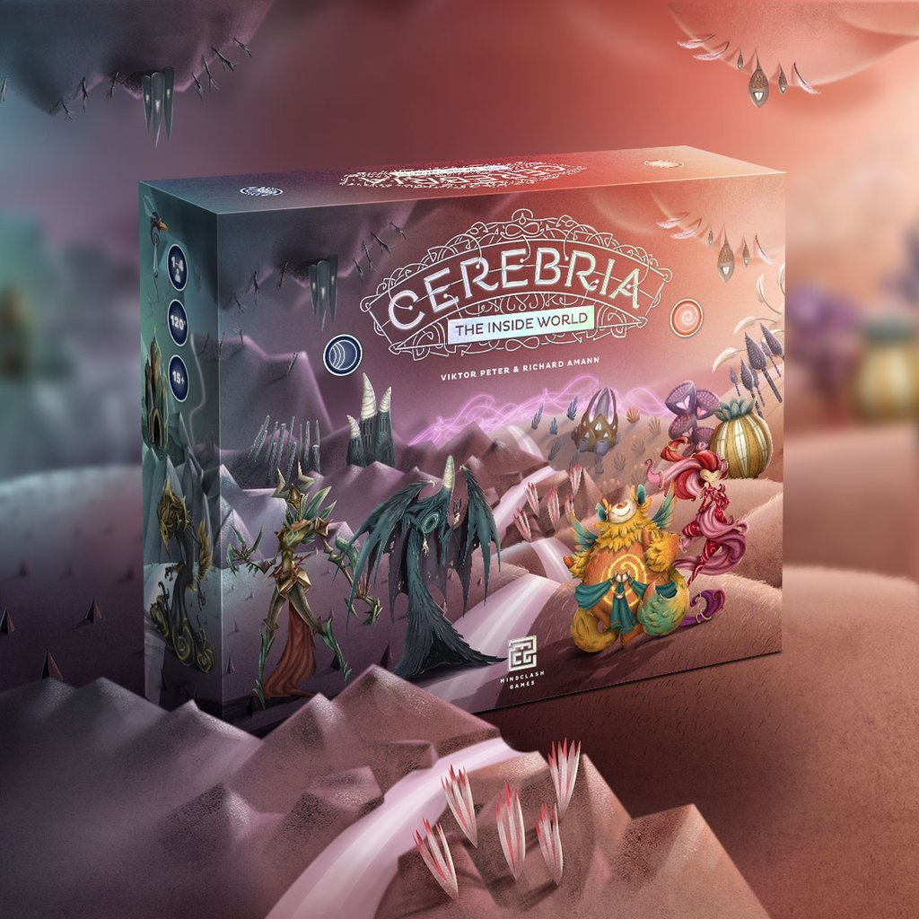 Cerebria: The Inside World - Board Game