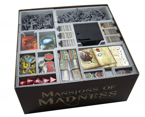 Folded Space: Game Inserts - Mansions of Madness