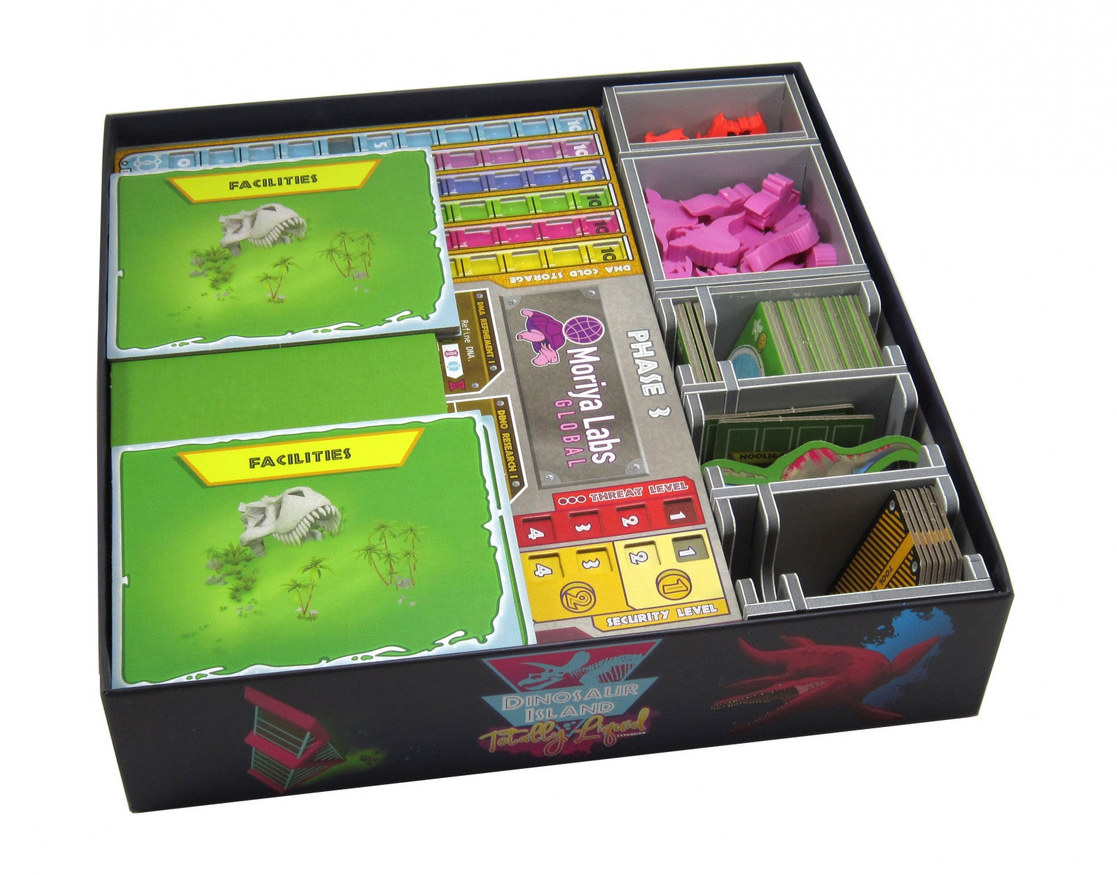 Folded Space: Game Inserts - Dinosaur Island