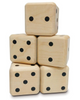 Easy Days: Wooden Yatzy Dice - Yard Set