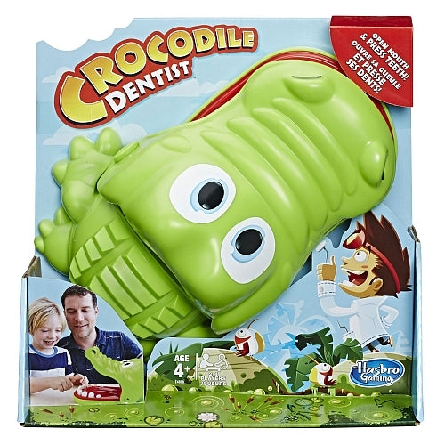 Hasbro: Crocodile Dentist - Children's Game