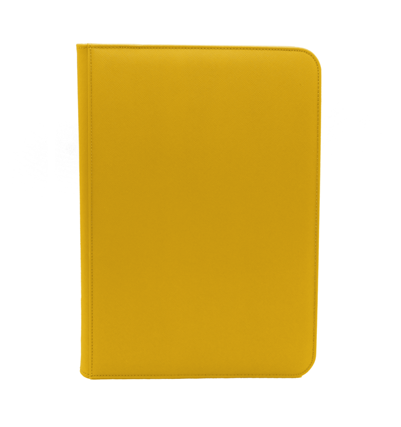 Dex Protection: Dex Zipper Binder 9 - Yellow