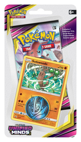 Pokemon TCG: Unified Minds Checklane Blister Sudowoodo